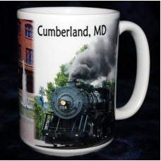 Cumberland Maryland Collage Mug