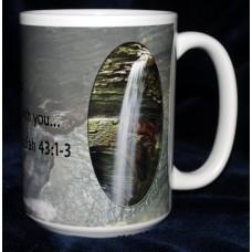 Isaiah 43 Photo 15 oz. Mug