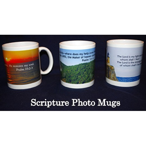 Scripture Photo Mugs